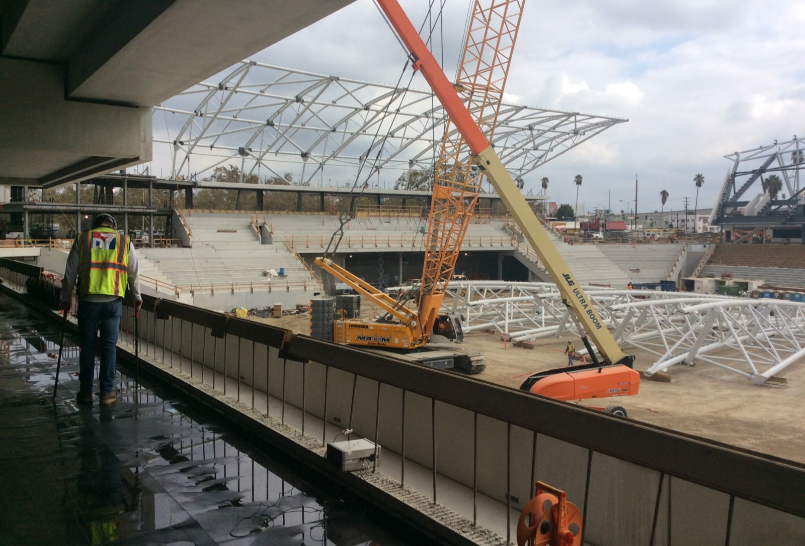 Electronic Testing at LAFC Soccer Stadium